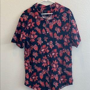 Men's RVCA Hawaiian Shirt